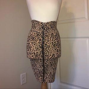 H&M Skirts - H&M Cheetah Skirt